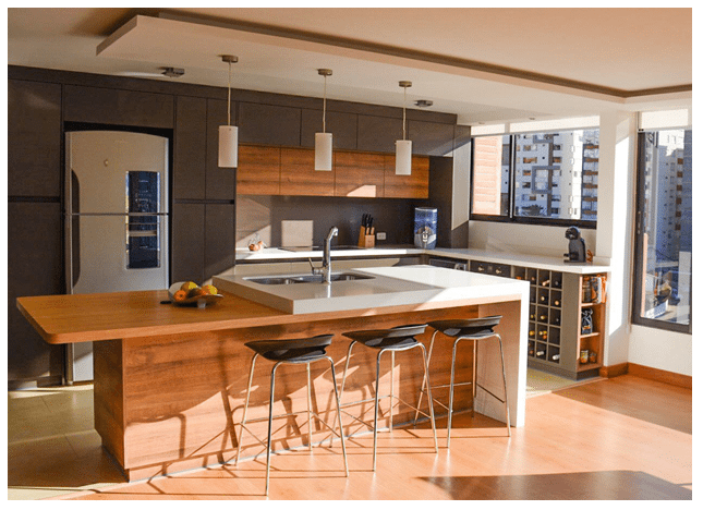Tendencias en diseño, material y colores en cocinas modernas - MegaT ...